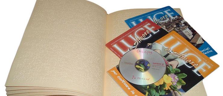 Rivista Luce e Amore in formato digitale, cartaceo e Braille