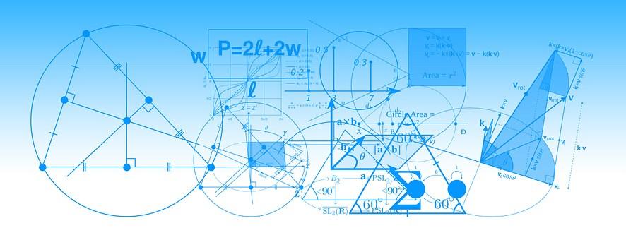 rappresentazione di formule matematiche e di geometria