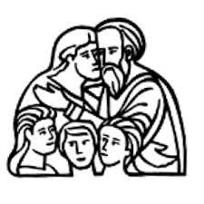 Immagine della sacra famiglia come da logo dell'Ufficio Nazionale per la Pastorale della Famiglia