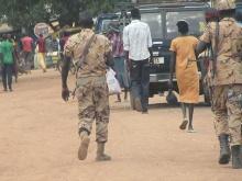 immagine del Sud Sudan in guerra fornita da Medici con l'Africa Cuamm