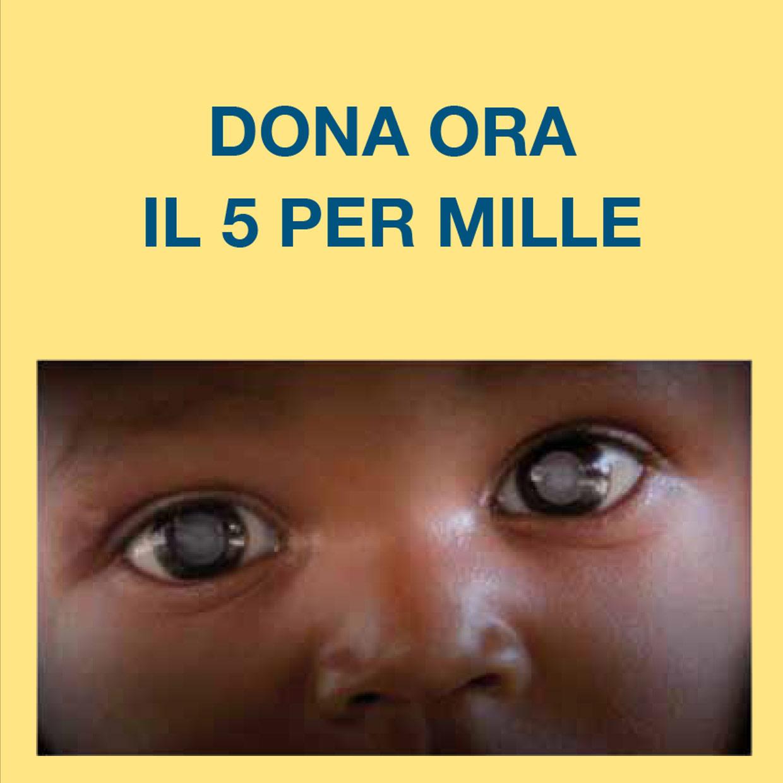 con una firma tu puoi donare, senza alcun costo per te, il 5 per mille della tua IRPEF per i progetti e i servizi del MAC in Italia e nel sud del mondo.