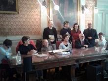 foto ricordo consegna premio Brugnani a Milano