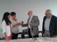 foto ricordo consegna premio anni precedenti a Pinerolo
