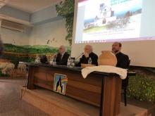 Monsignor Galantino, Francesco Scelzo e Don Alfonso Giorgio al dibattito sul tema della Condivisione 2017