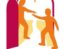 Logo Giornata mondiale dei Poveri 2020 - Tendi la tua mano al povero