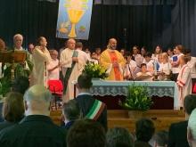 Momento della celebrazione della S.Messa