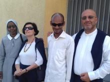 Delegazione del MAC con Don Alfonso Giorgio e Violetta De Filippo in visita in Africa
