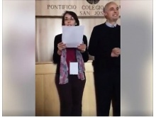 lettura dei nomi dei consiglieri eletti a Roma
